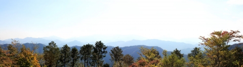 Day 4 - Mount Takao panorama 2