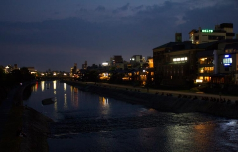 Day 5 - Kyoto nightlife on the riverbanks