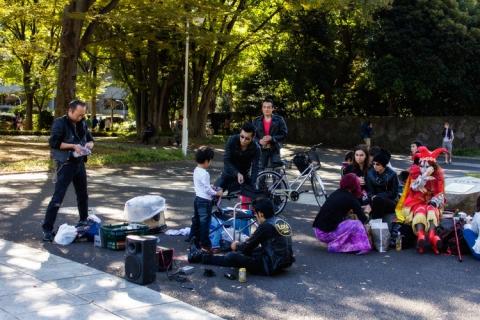 Day 13 - Yoyogi Park rockers