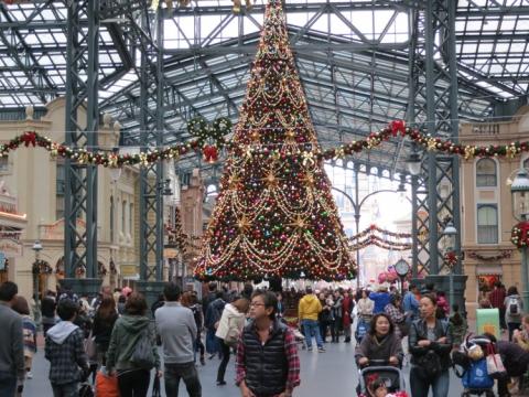Day 14 - Disneyland Main entrance