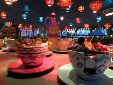 Day 14 - Tea Cup ride