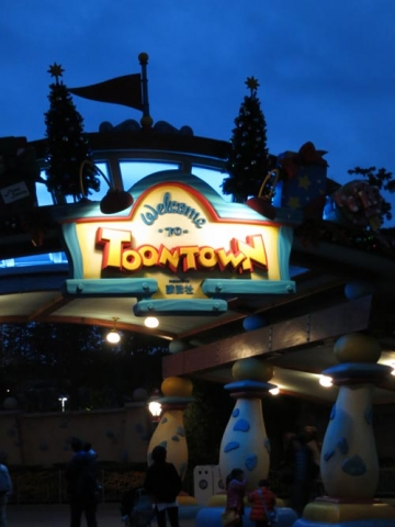 Day 14 - Toon Town entrance