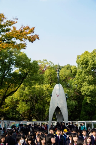 Day 8 - Hiroshima Peace Park Bell