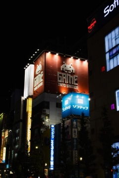 Day 2 - Akihabara at night
