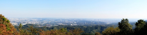 Day 4 - Mount Takao panorama 1