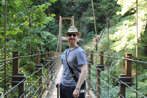 Day 4 - Mount Takao suspension bridge