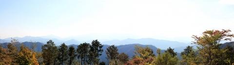 Day 4 - Mount Takao panorama 2