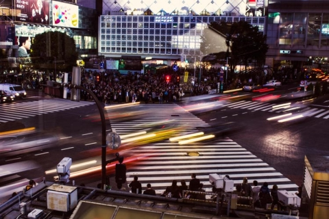 "Day 4 - Shibuya crossing ""before shot"""