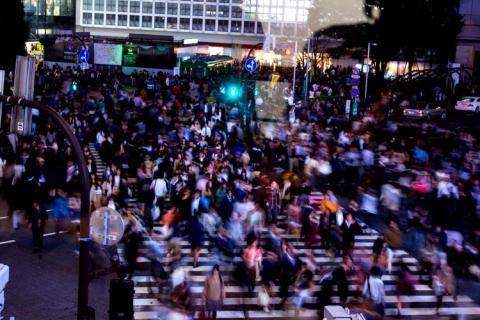 Day 4 - Shibuya crossing action shot