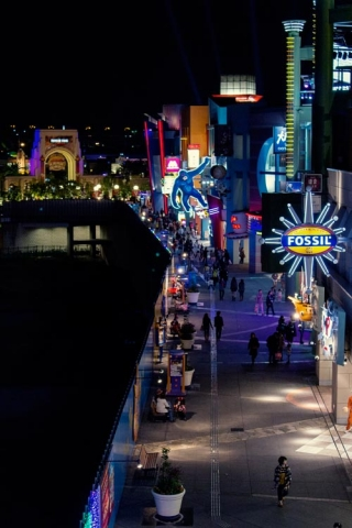 Day 9 - Universal City Walk from above