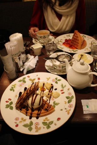 Day 11 - Osaka posh waffles