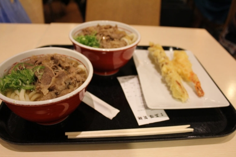 Day 12 - Food court udon