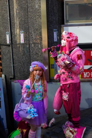 Day 13 - Cosplaying in Harajuku