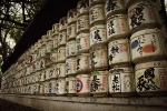 Day 1 - Sake barrels