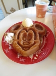 Day 14 - Mickey Mouse waffle head