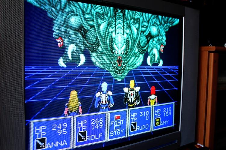 Playing Through Phantasy Star 2 In 2012 Retro Otaku