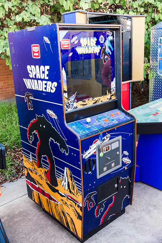 Anime Inferno Space Invaders cab