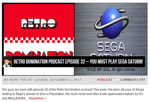 Retro Domination Saturn Podcast